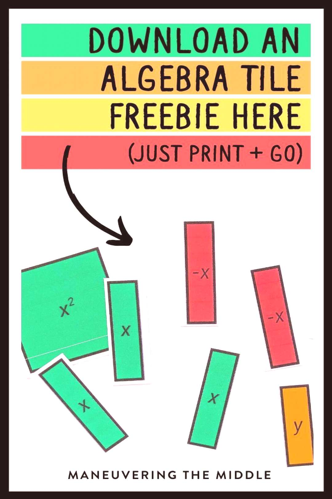 Algebra Tiles Free Download,Learn why you should use algebra tiles AND get a free set! Just d... Al