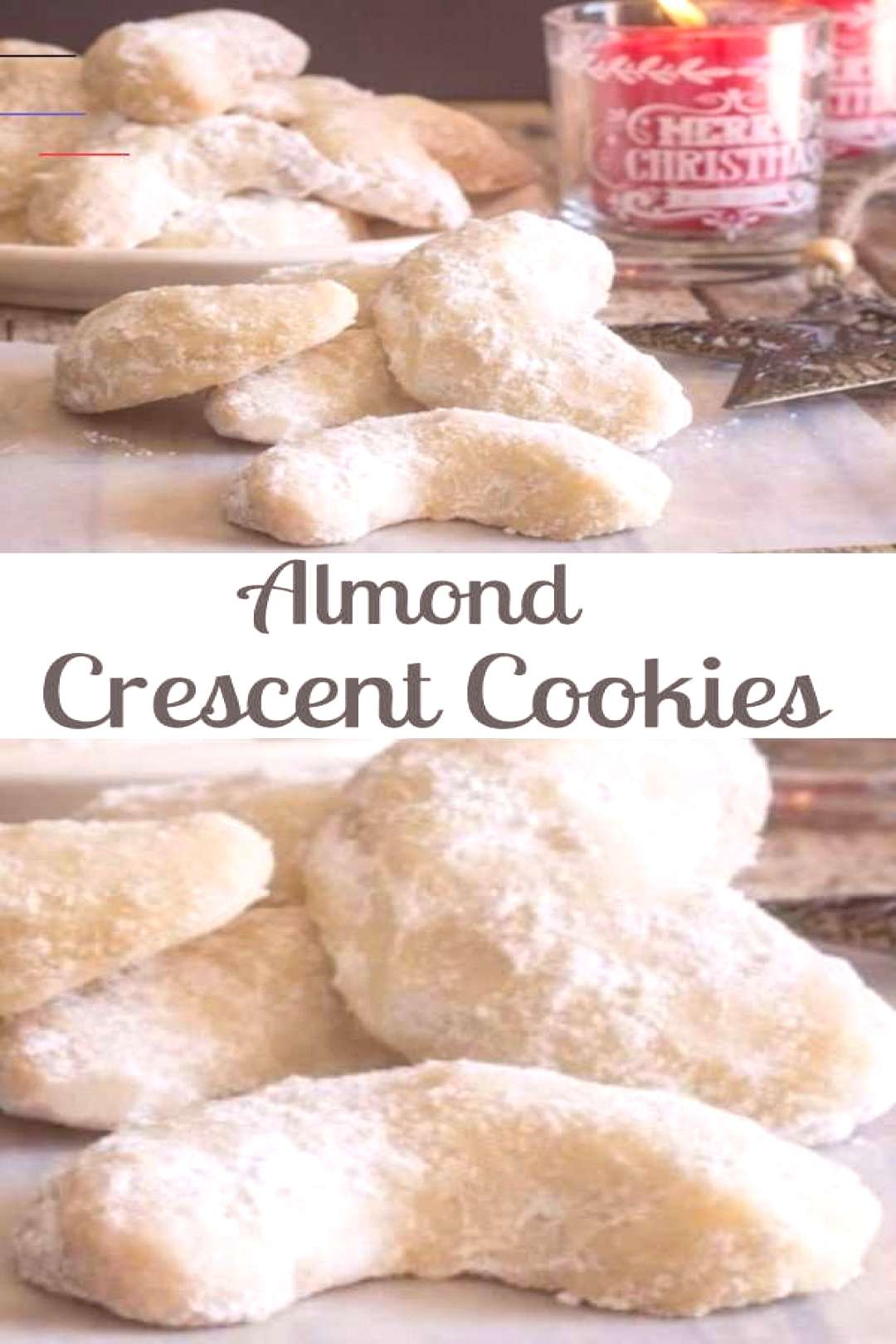 Almond Crescent Cookies - An Italian in my Kitchen Almond Crescent Cookies - An Italian in my Kitch