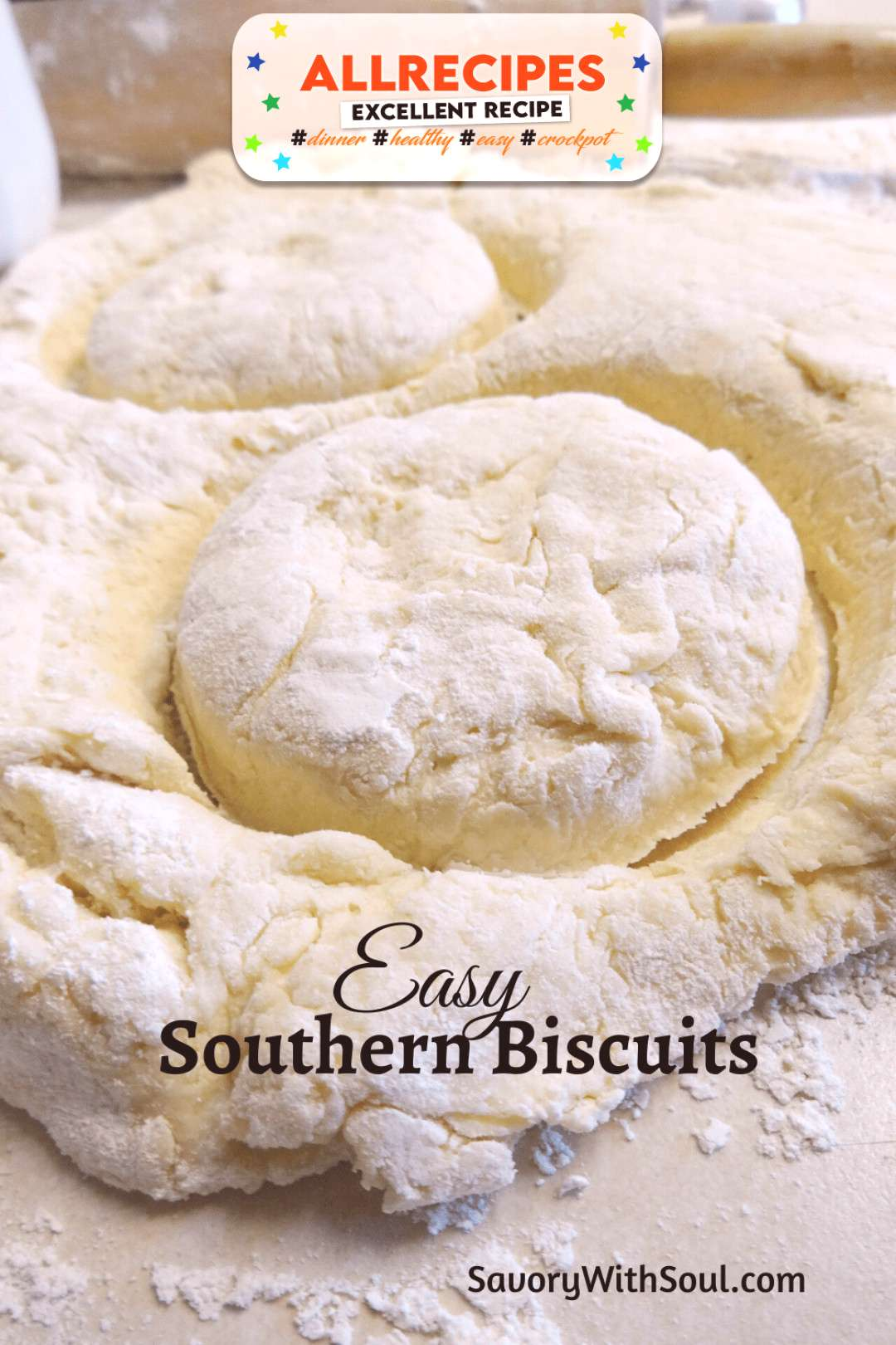 Butter Biscuits (Easy & Flaky Southern Style) - Savory With Soul - - Butter Biscuits (Easy & Flaky