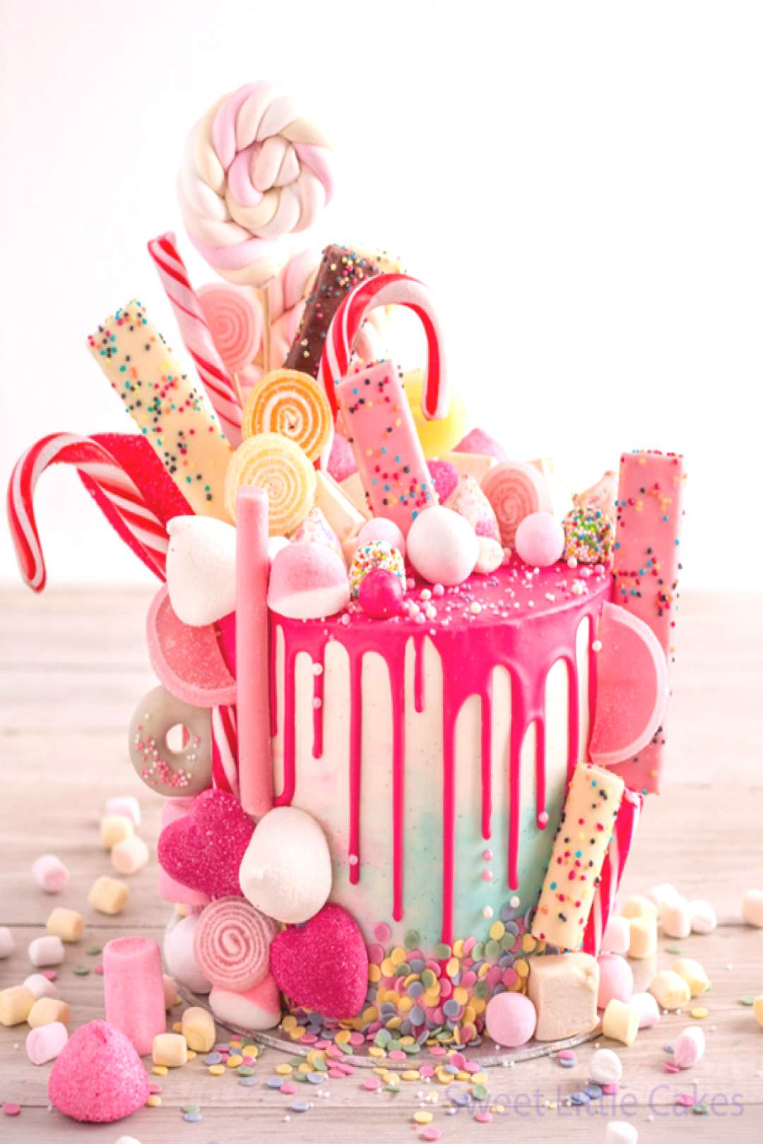 Cake, Sweetie! 19 Epic Candy-Covered Wedding Cakes |  -  Cake, Sweetie! 19 Epic Candy-Covered Weddi