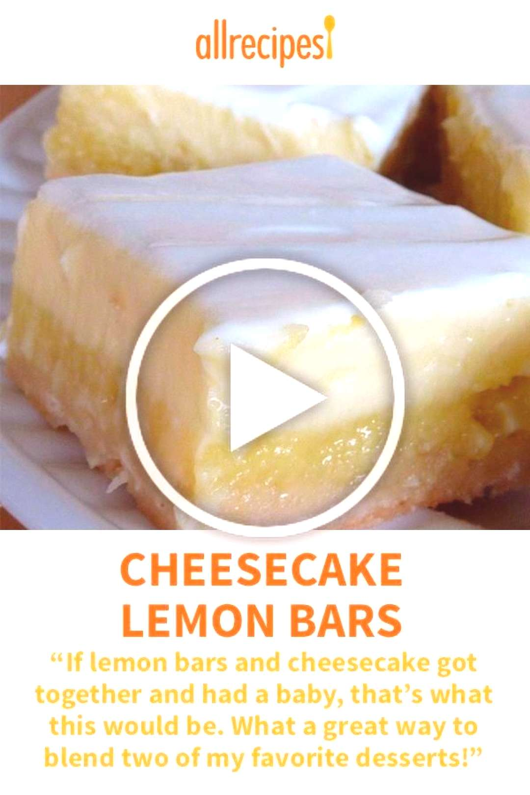 Cheesecake Lemon Bars | If lemon bars and cheesecake got together and had a baby, that's what thi