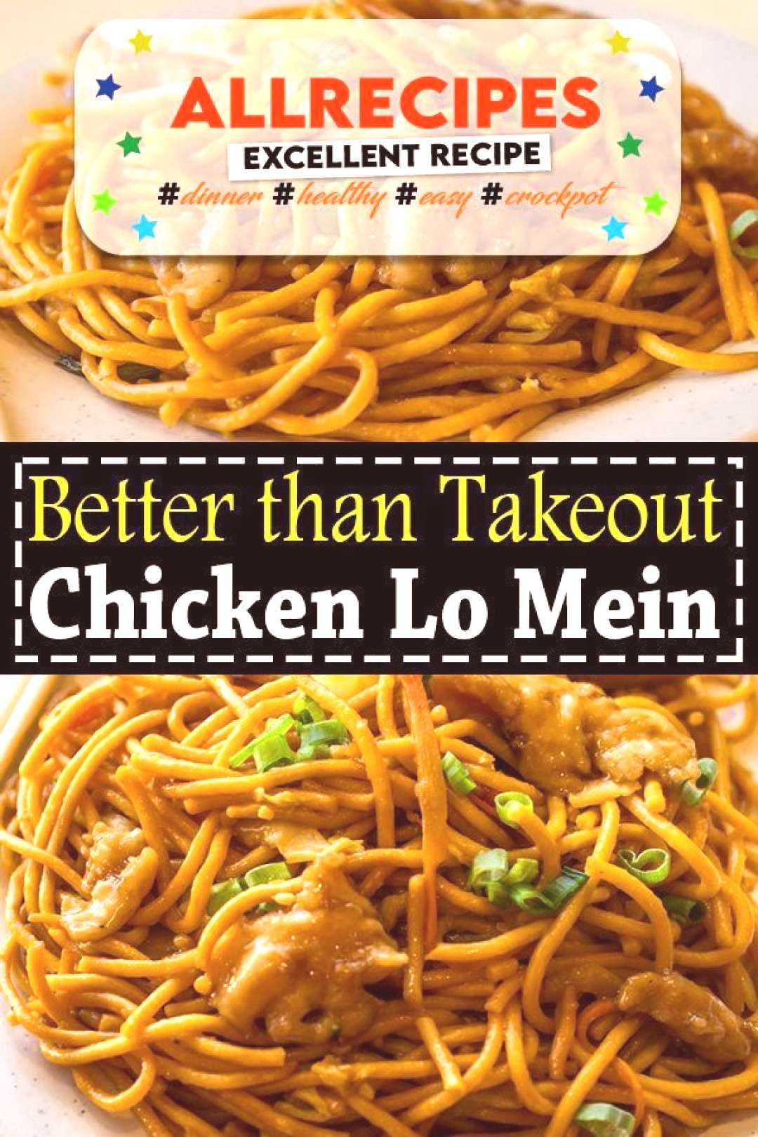 Chicken Lo Mein - - Chicken lo mein is way better than takeout. This easy Chicken Lo Mein recipe is