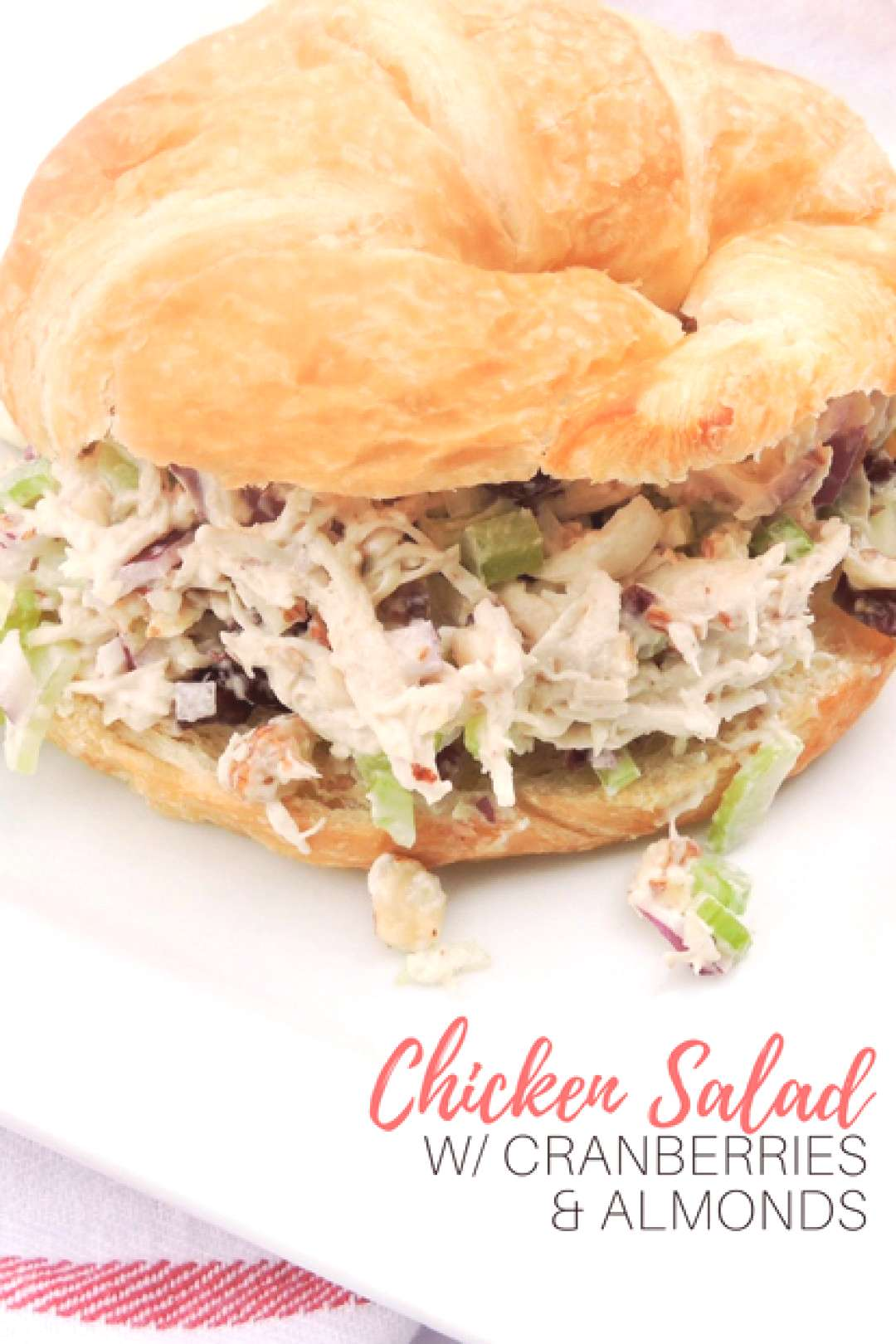 Chicken Salad With Dried Cranberries and Almonds - ,This chicken salad will... Chicken Salad With D