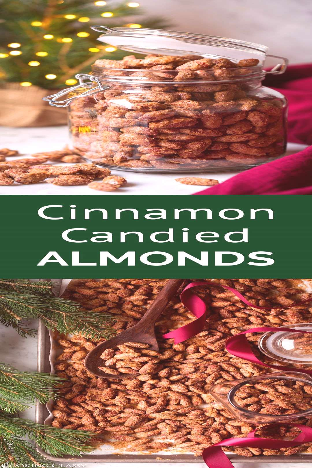 Cinnamon Candied Almonds - these are are one of the best holiday treats! I've be... - -