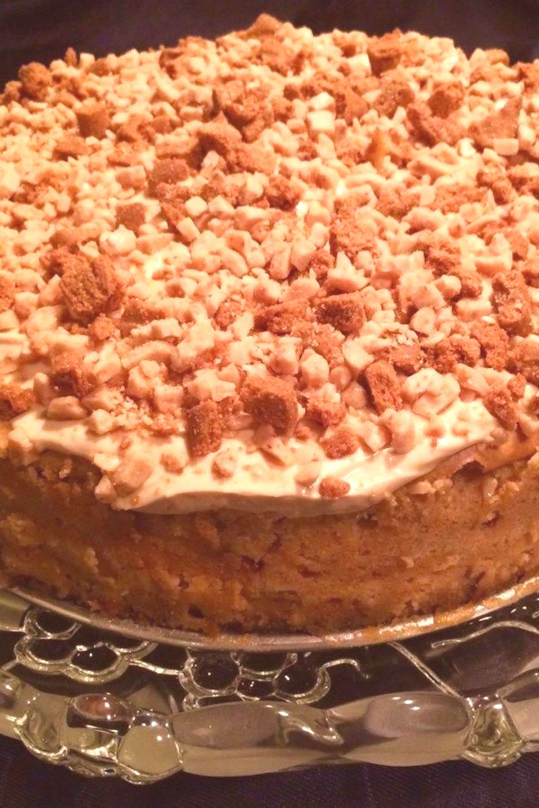 Cookie Butter Cheesecake |