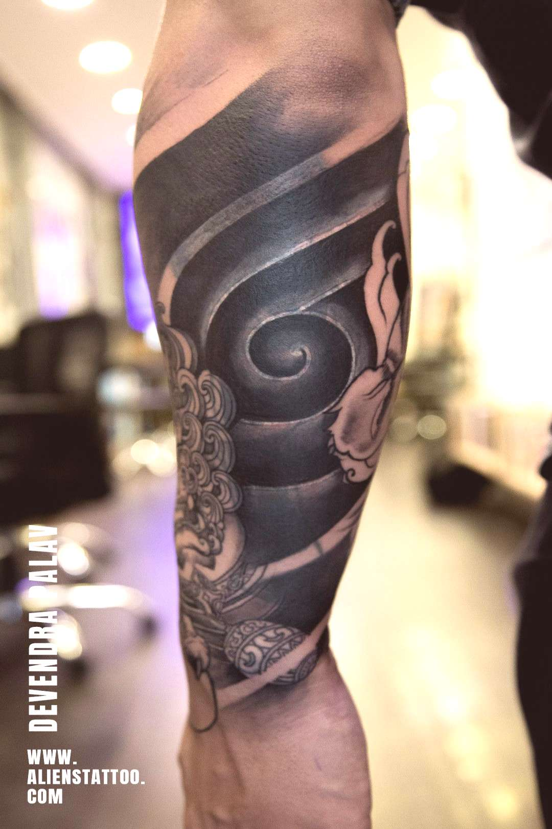CoverUp Tattoo | Half sleeve | Aliens tattoo ,  CoverUp Tattoo | Half sleeve | Aliens tattoo ,