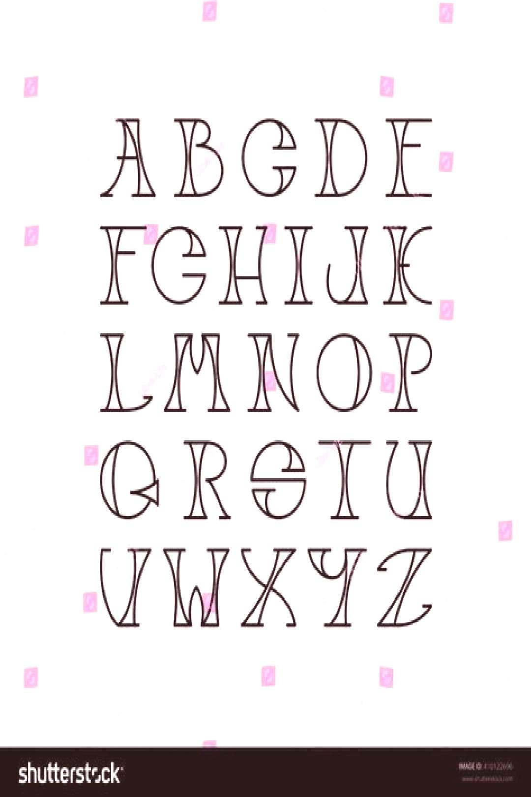 Drawing Ideas Easy Hand Lettering Alphabet Fonts 63+ Ideas