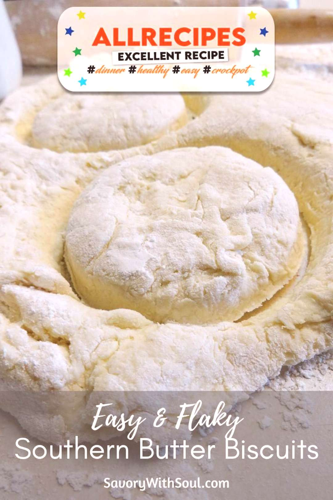 Easy & Flaky Southern Butter Biscuits - - This recipe for Southern butter biscuits was handed down