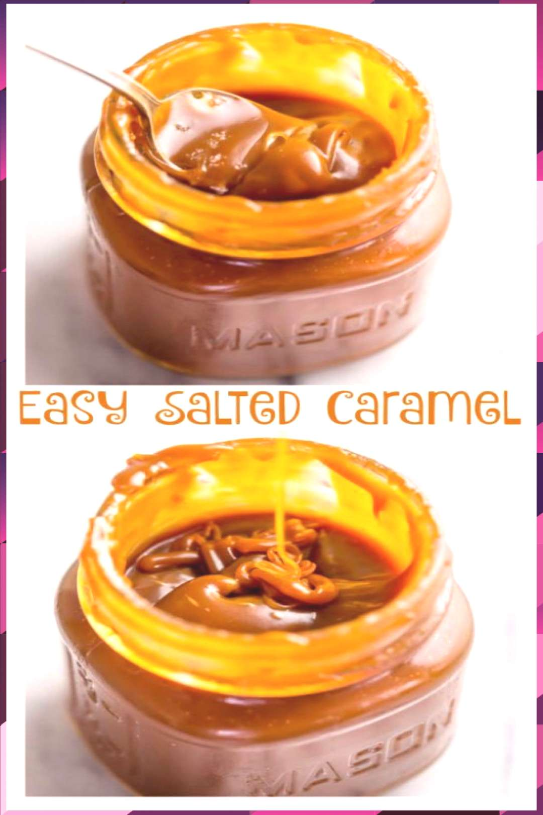 Easy Homemade Salted Caramel Sauce free breads free chocolate free pumpkin free butter