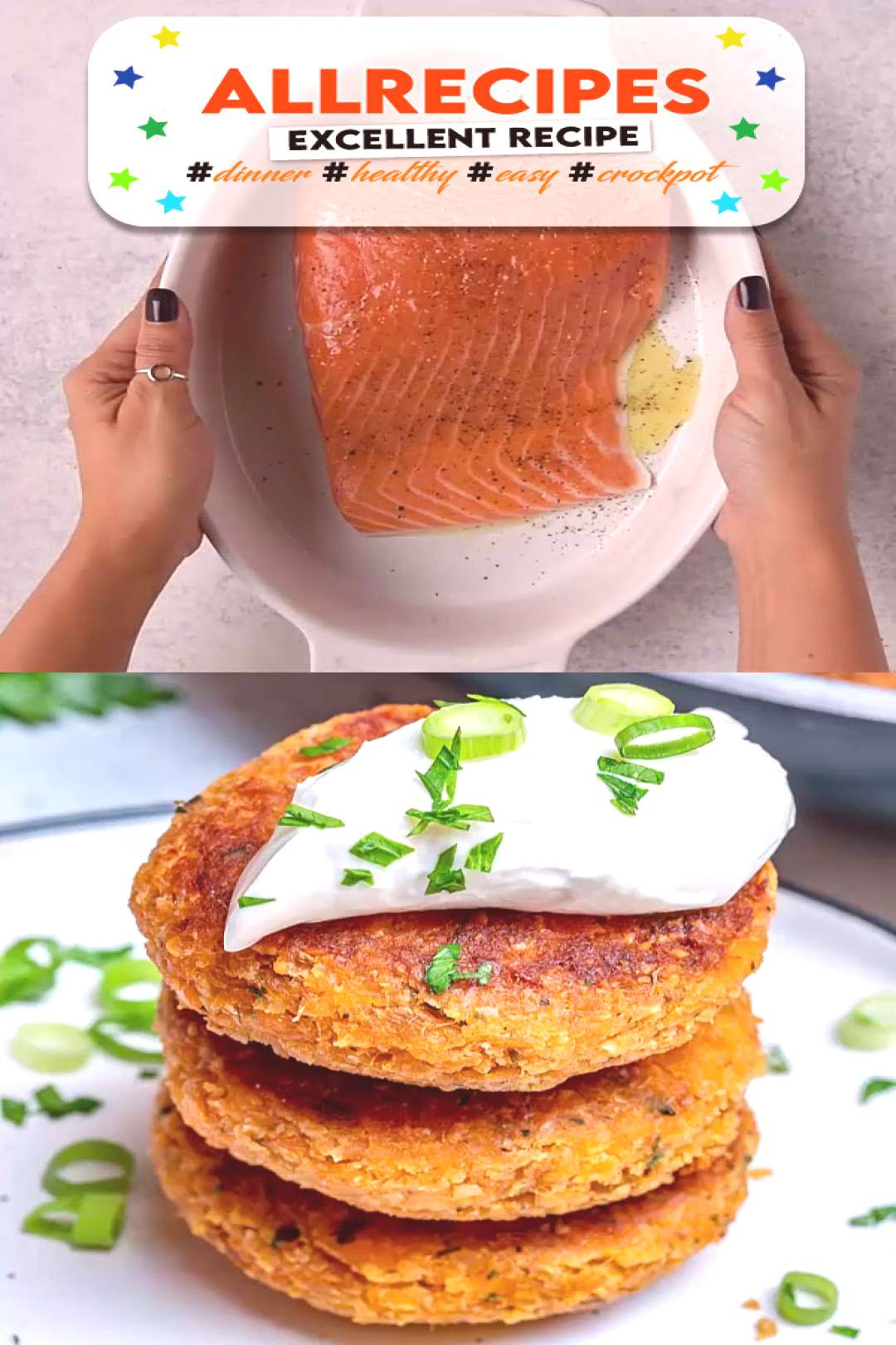EASY SALMON PATTIES - - This salmon recipe will be one of your favorite lunch or dinner meal. They