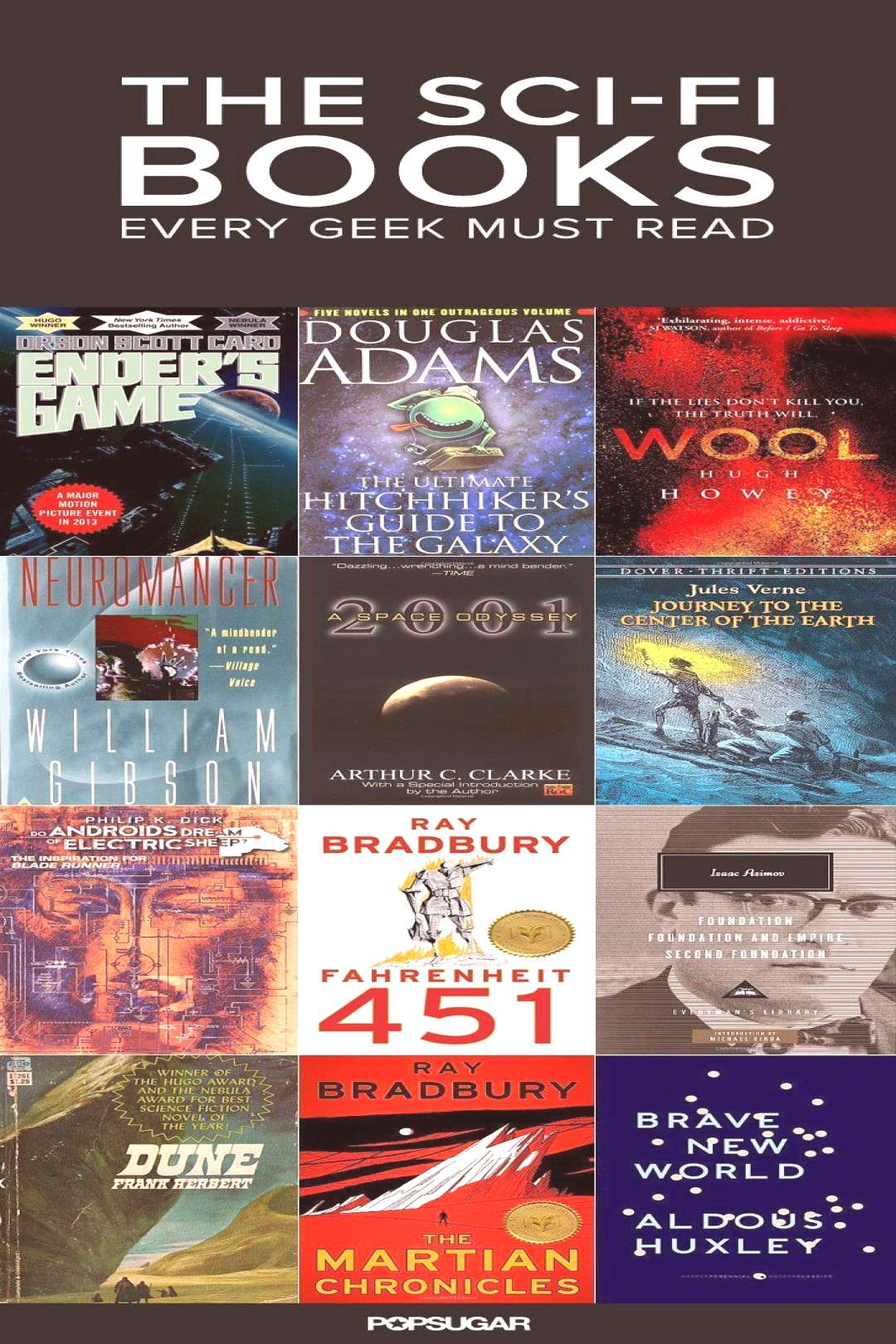 filme   The Sci-Fi Classics You Need to Read Before You Die   Fantasy books, Science fiction books,
