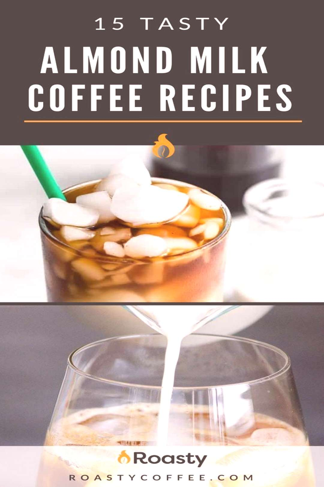 For people looking for a healthier coffee drink, check out our 15 tasty almond milk coffee recipes