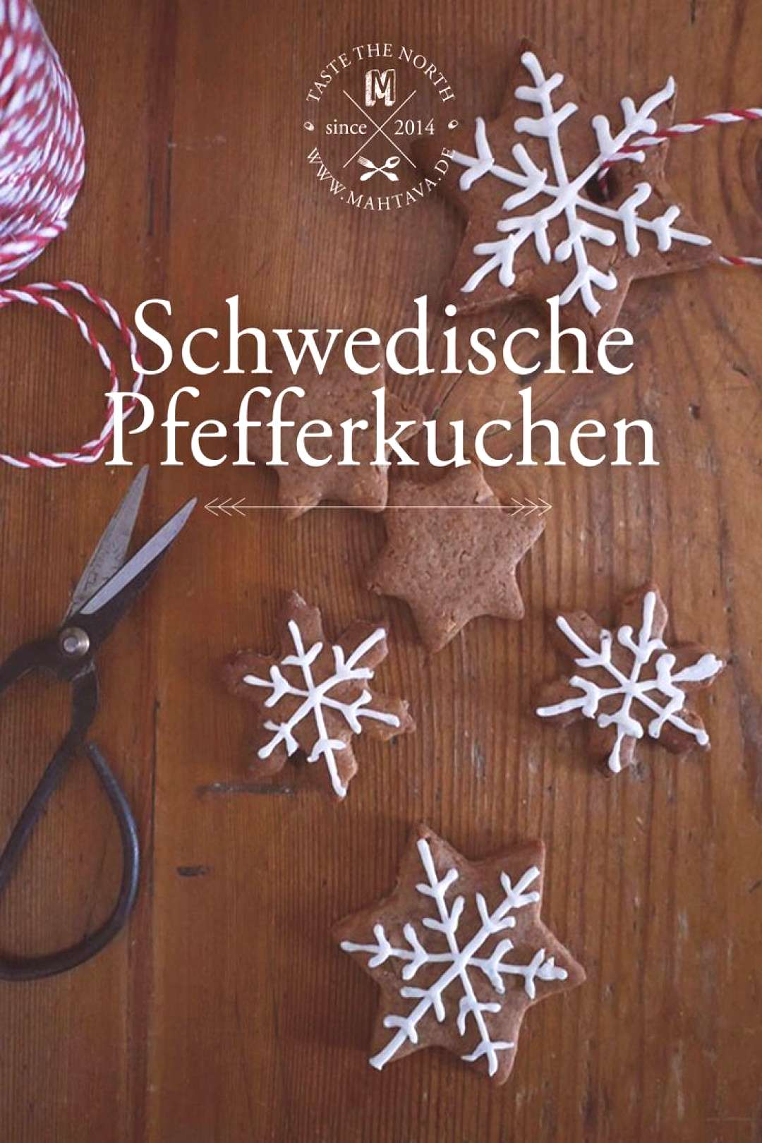 Gingerbread with almonds (Pepparkakor med almond) • MAHTAVA! - -