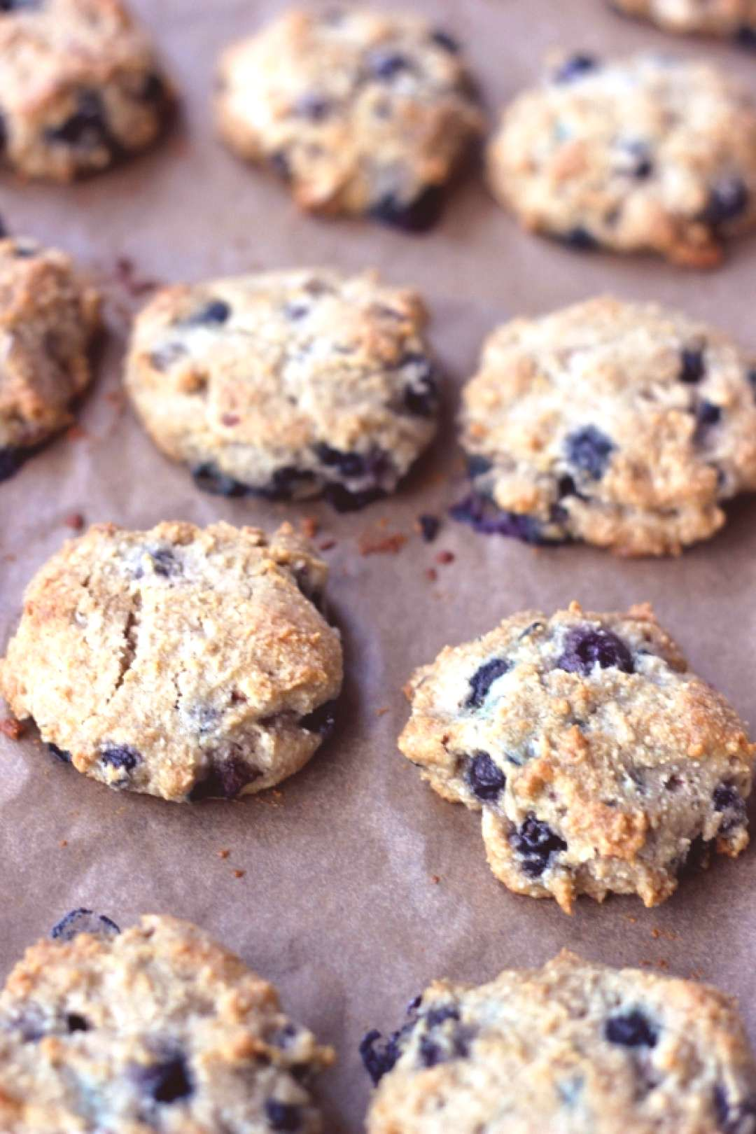 Grain-Free Blueberry Almond Breakfast Cookies -  This post is part of our restricted diet series fr