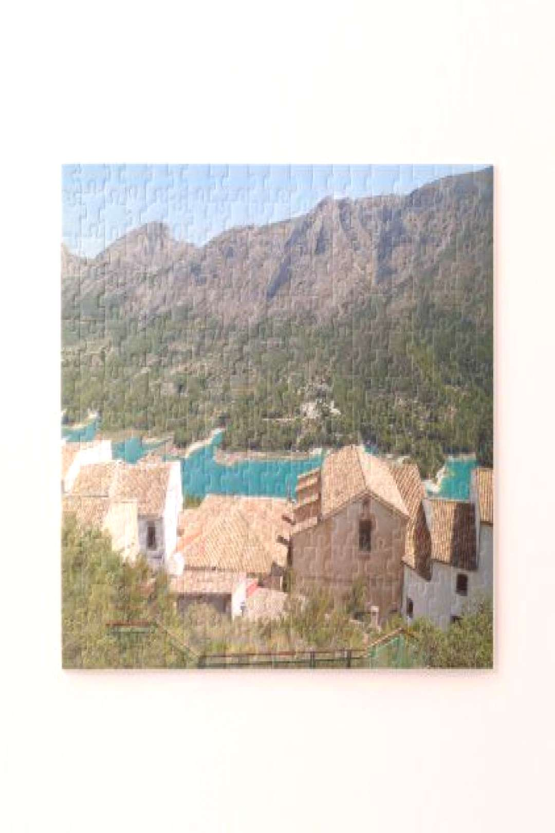 Guadalest Valley Alicante Spain Jigsaw Puzzle - summer gifts season diy template ideas