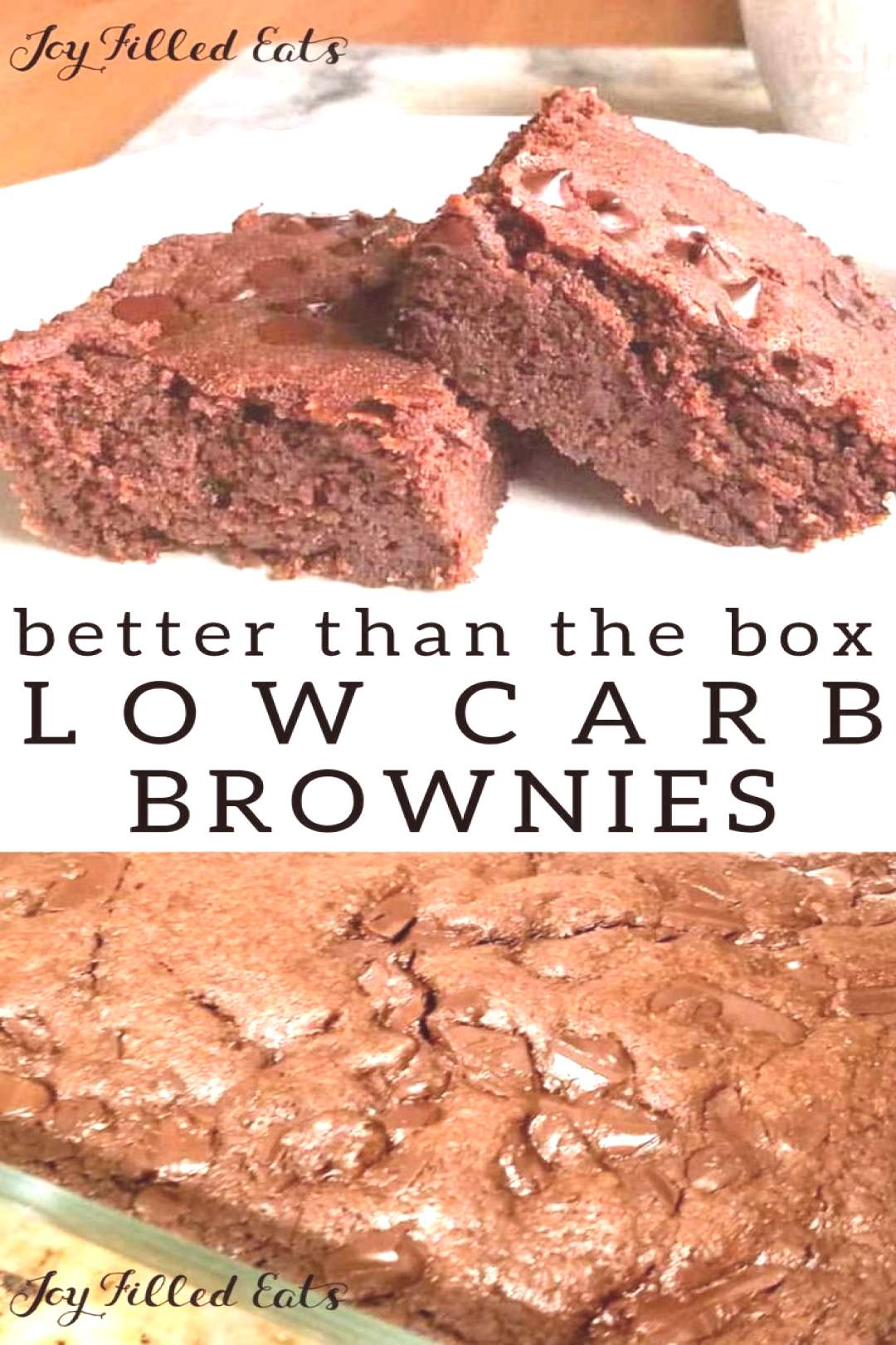 Hannah's Fabulous Brownies - Low Carb Sugar/Dairy Free THM S -  Better Than Box Brownies – Keto,