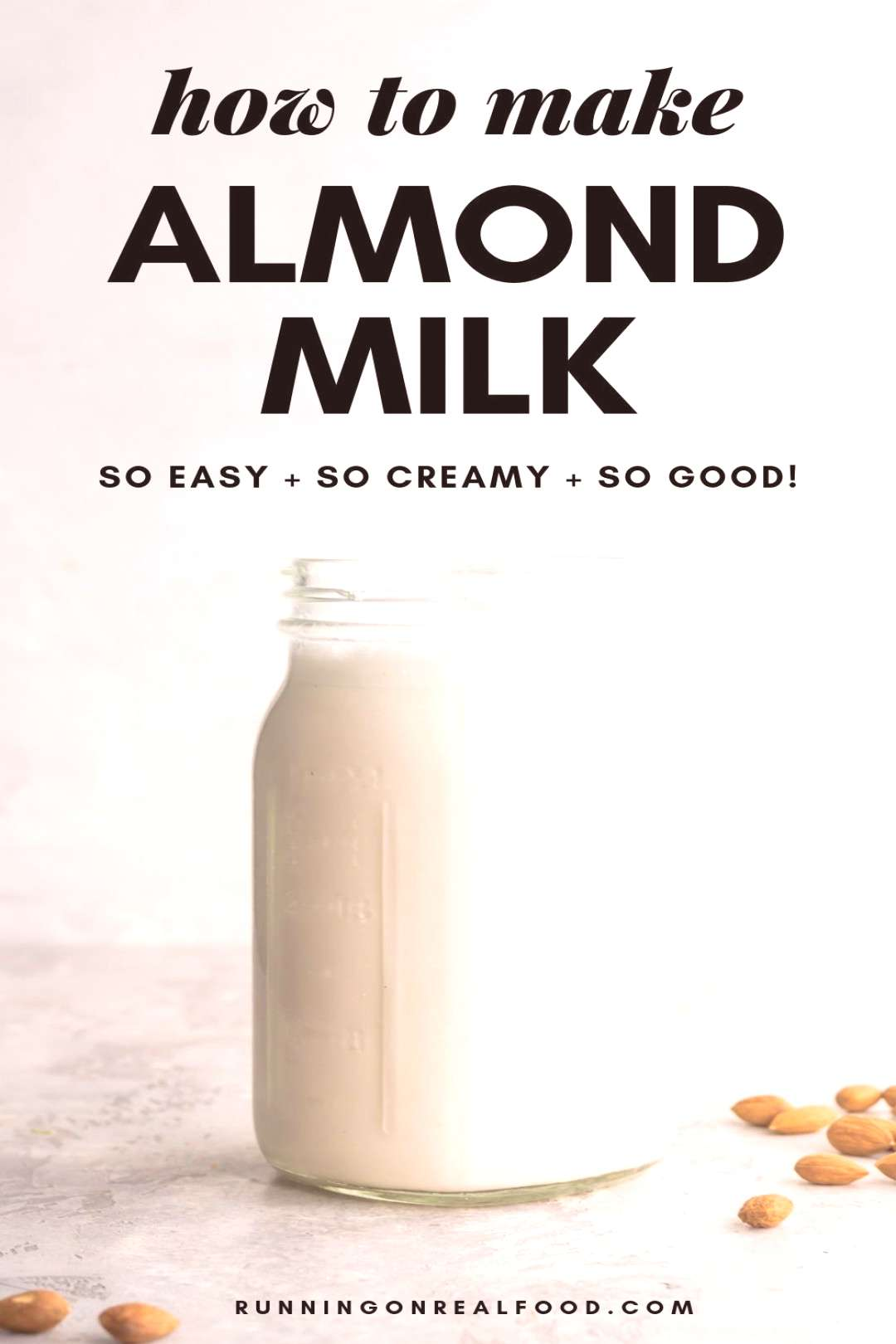 Have you ever wanted to try homemade almond milk? In this post, we'll go through how to make almo