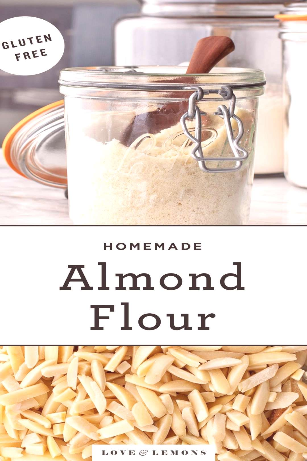 How to Make Almond Flour - Love and Lemons Learn how to make almond flour at home! It's SO easy to