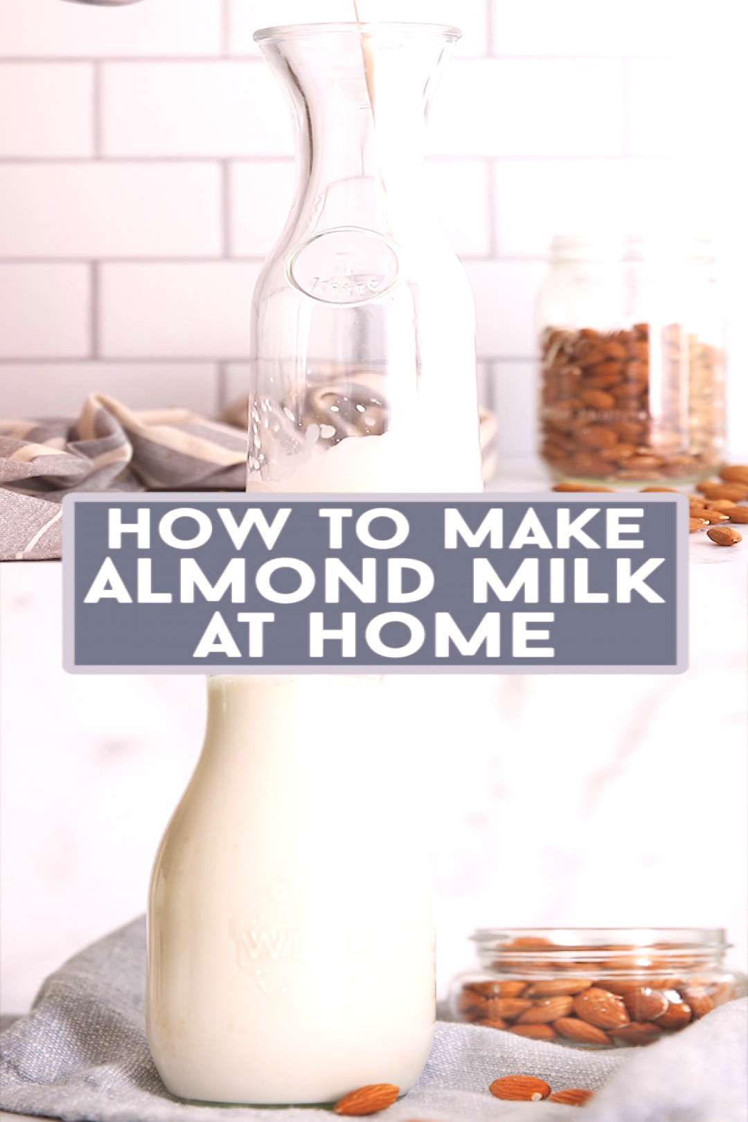 How to Make Almond Milk Have you ever thought to make your own almond milk? It's unbelievable eas