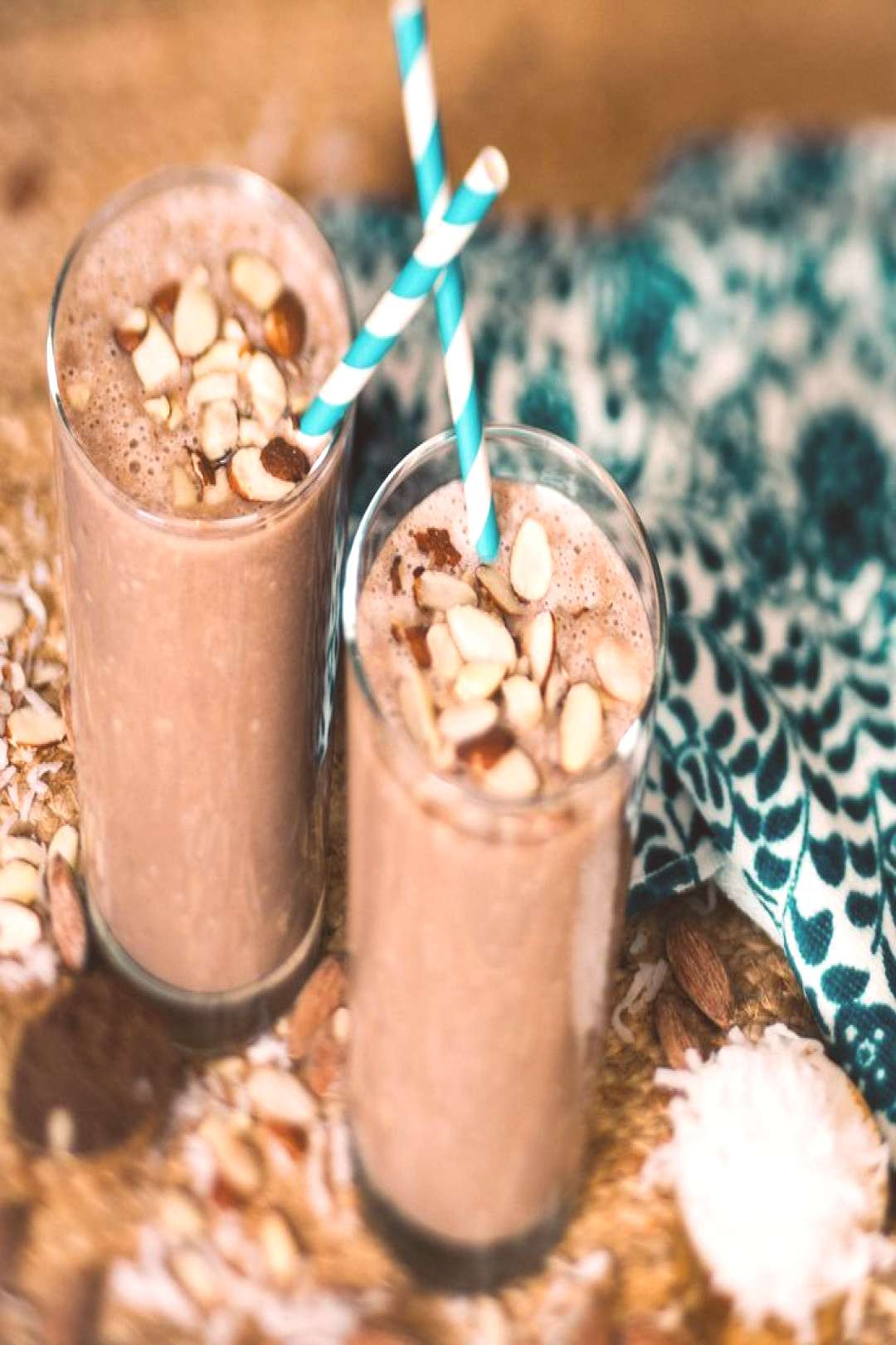 Ingredients: 1 cup Premier Protein Chocolate shake 2 Tbsp. sliced almonds 2 Tb... -  Ingredients: