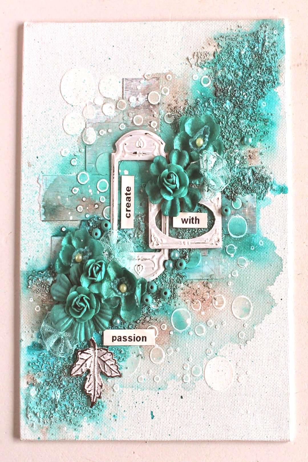 Ingrid Gooyer - 13arts: March Challenge Moodboard with a Twist