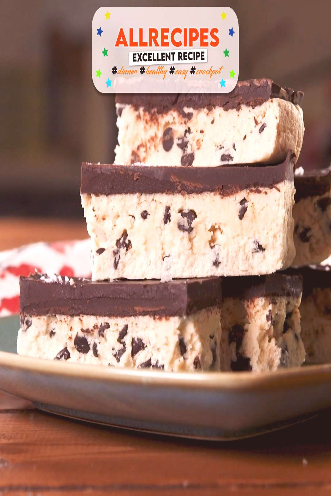 Keto Cookie Dough Bars - - Few things are more comforting than edible cookie dough. Full recipe at