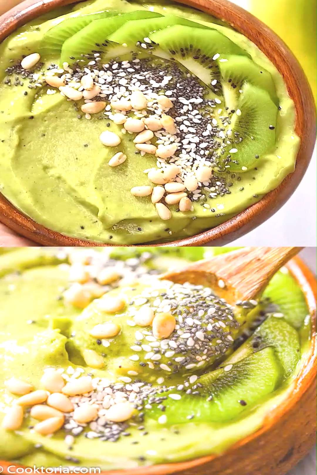 Matcha Green Smoothie Bowl This Green Matcha Smoothie Bowl makes a perfect summer treat. Made with