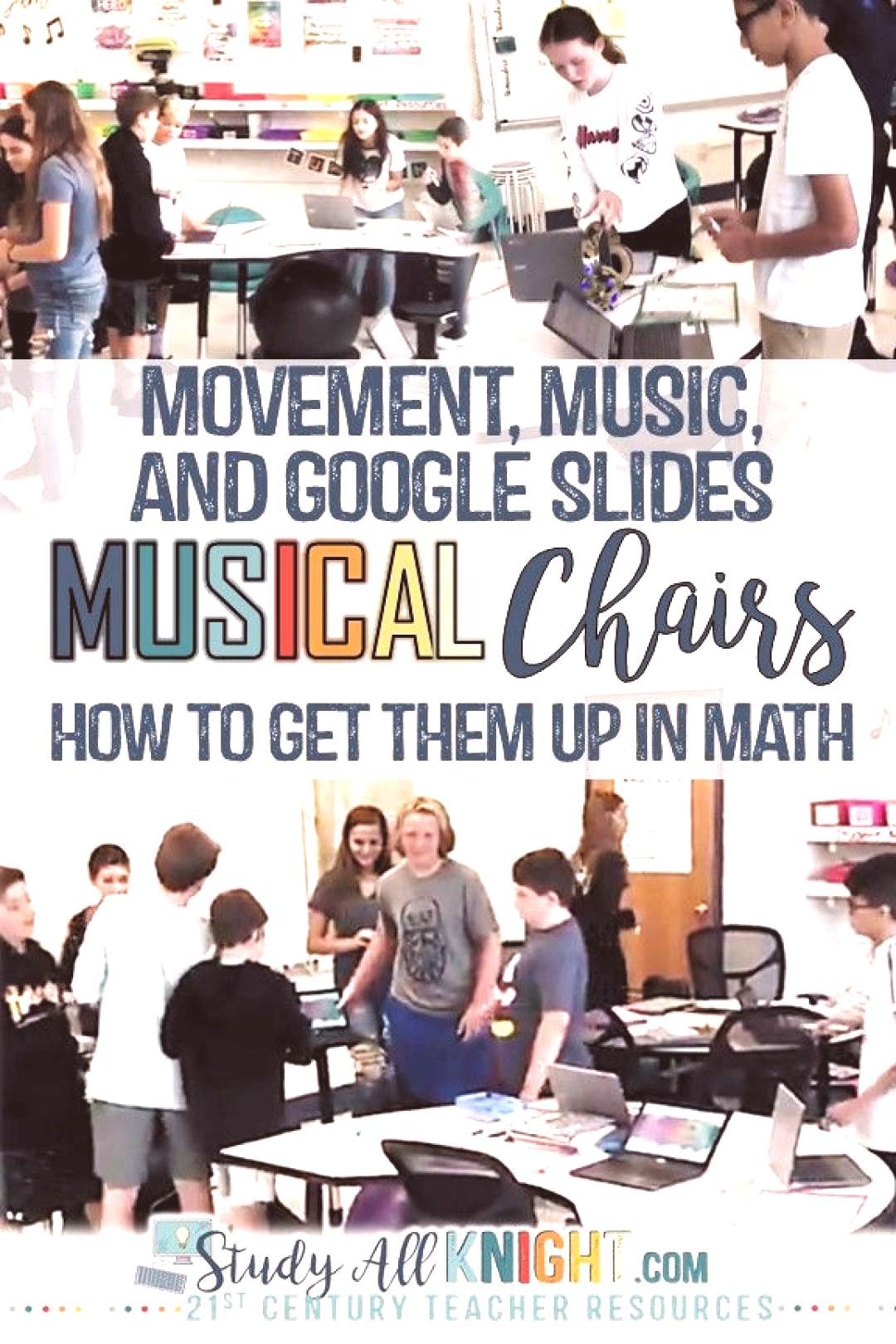 Math classroom activity, students love music, technology and math, Google Slides, middle school, st