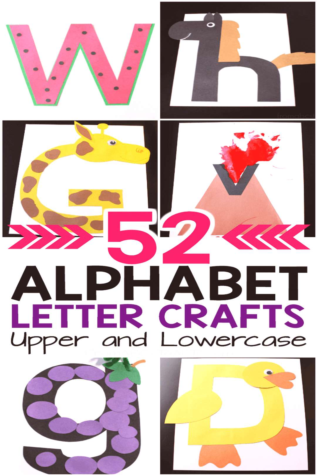 Oh my gosh! My preschooler is going to absolutely LOVE making this alphabet book! I love that it in