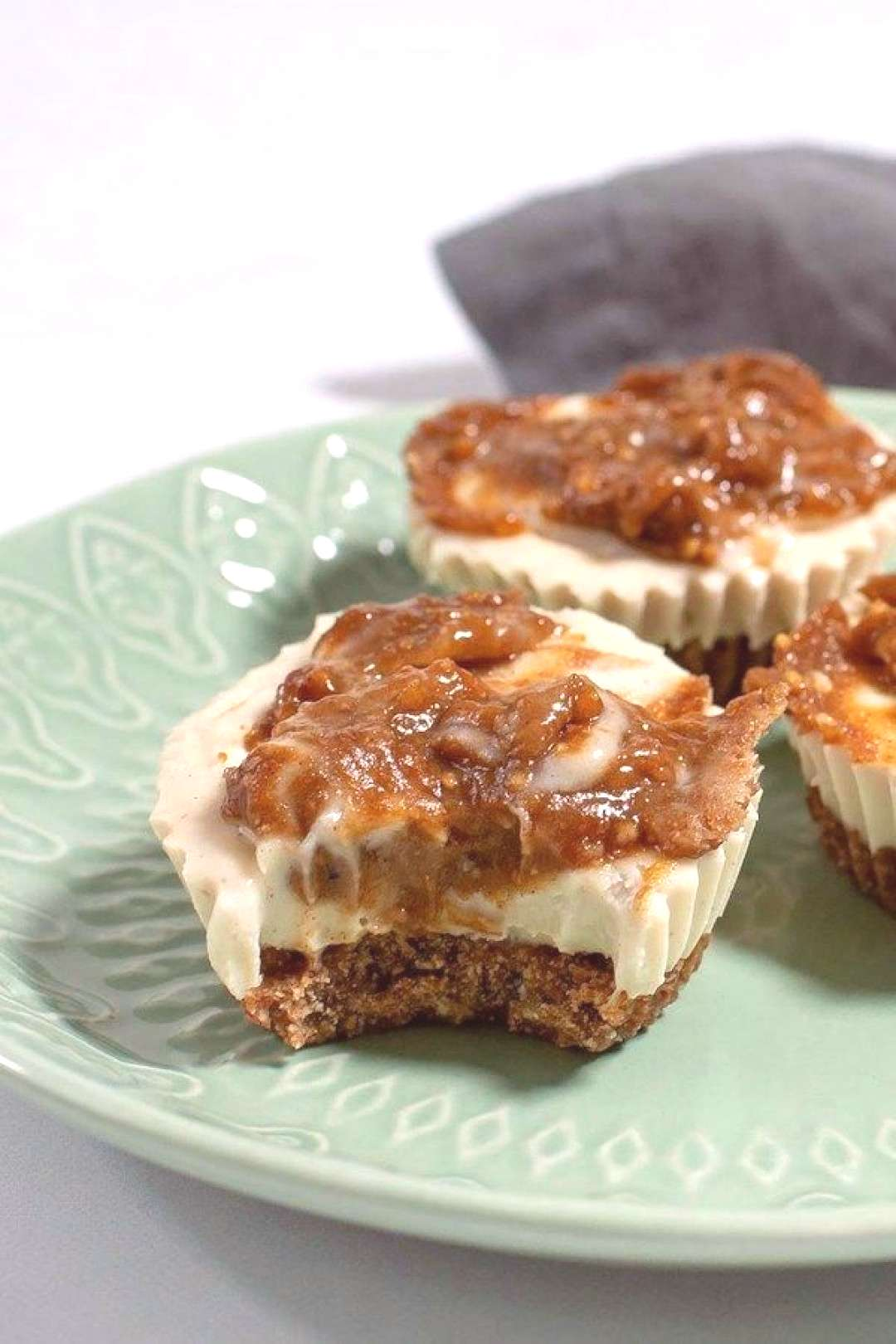 Paleo Cookie Butter Cheesecake Bites  