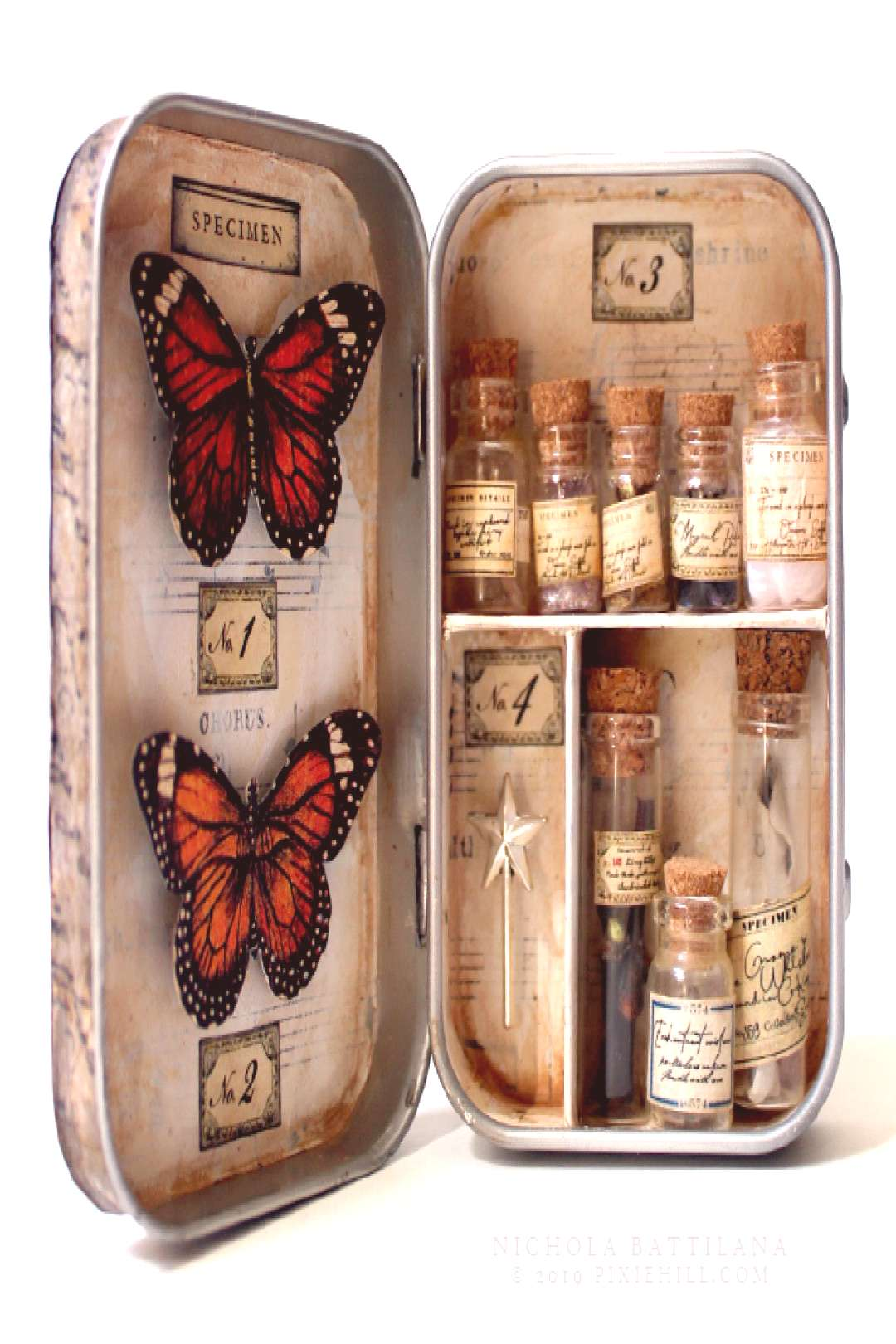 Pixie Hill: Altoid Specimen Tin