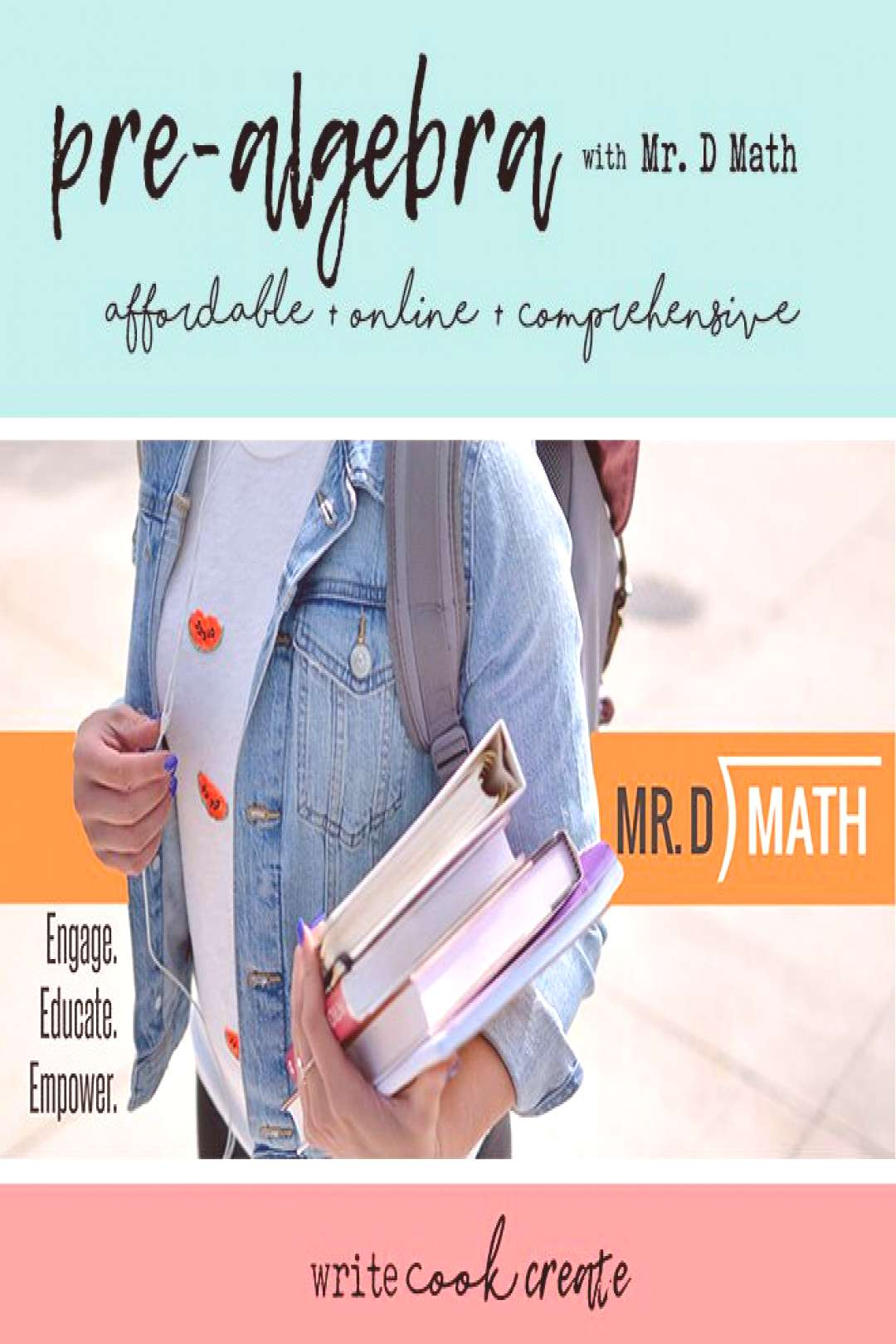 Pre-Algebra with Mr. D Math: A Review - write cook create With Mr. D Math, you and your student hav