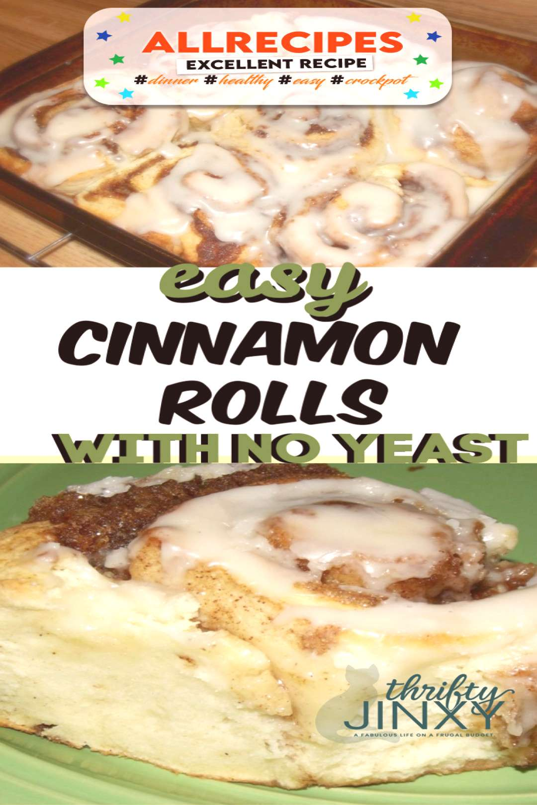 Quick and Easy No Yeast Cinnamon Rolls - - There's no need to wait for the dough to rise with this