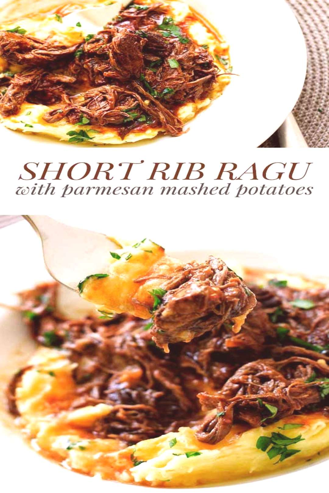 Slow-Cooked Short Rib Ragu -  This hearty short rib ragu is the ultimate comfort food! It's rich
