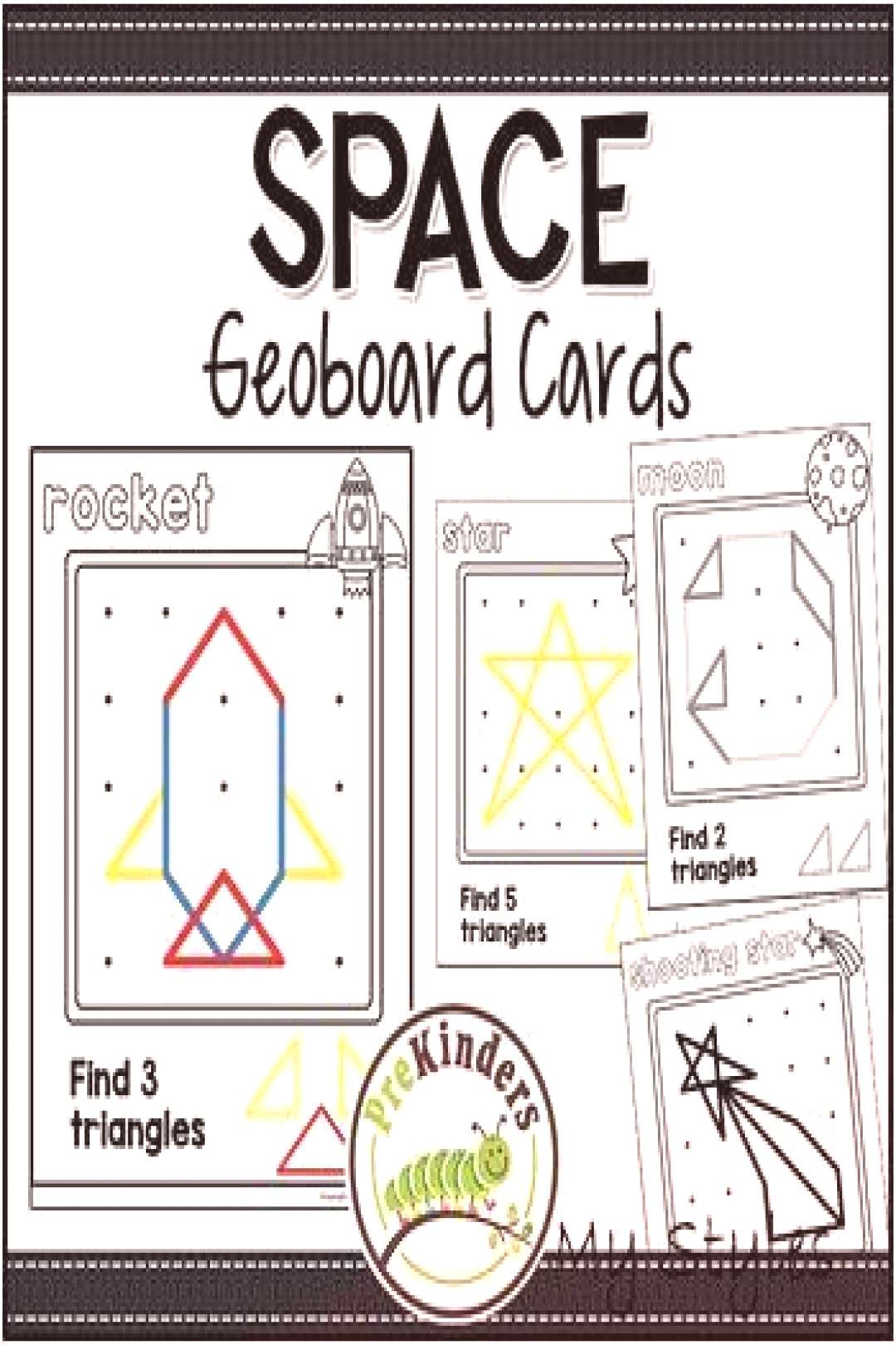 Space Geoboards: Shape Activity for Pre-K Math