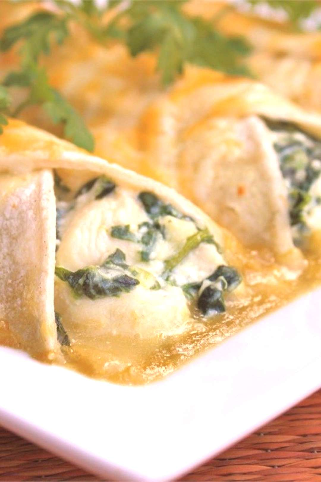 Spinach Enchiladas |