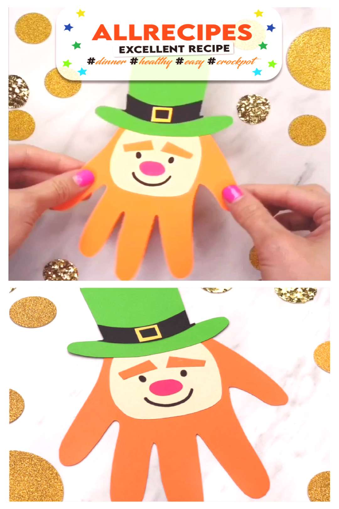 St Pattys Day Craft For Kids  - - If you're looking for an easy St Pattys day craft for kids, this