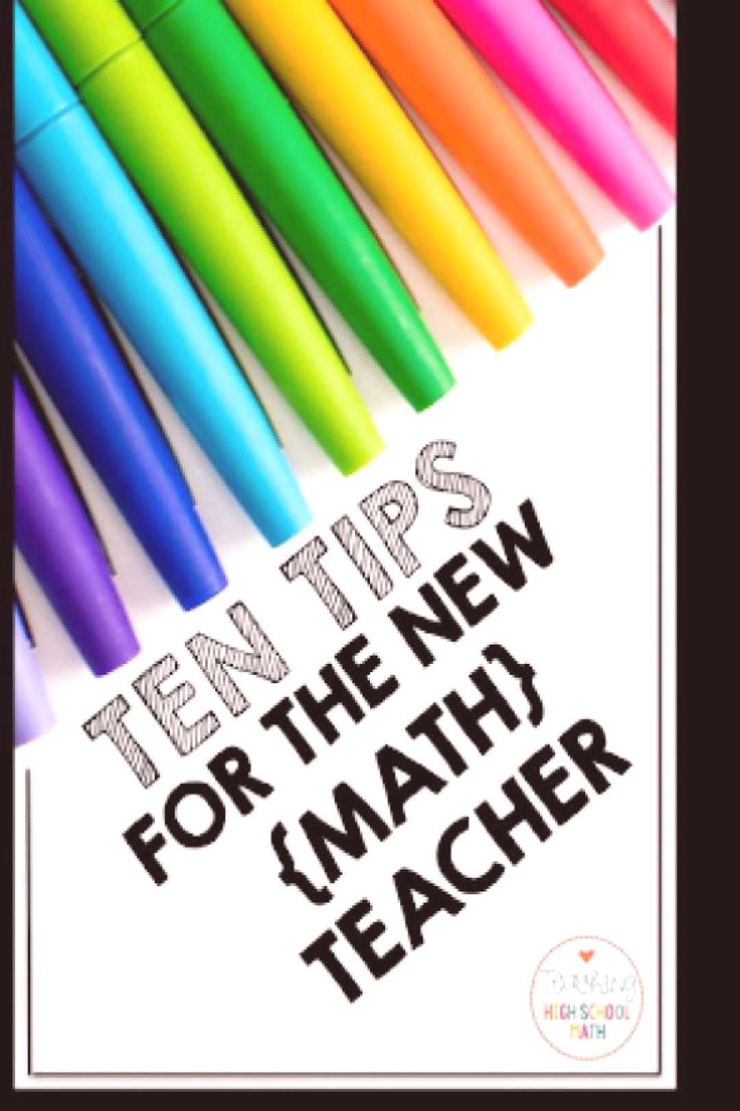 Teaching math for the first time this year?  Check out this blog post for some important tips.