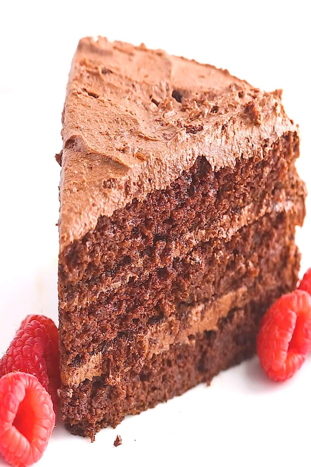 The Best Paleo Chocolate Cake with Paleo Chocolate Frosting - -