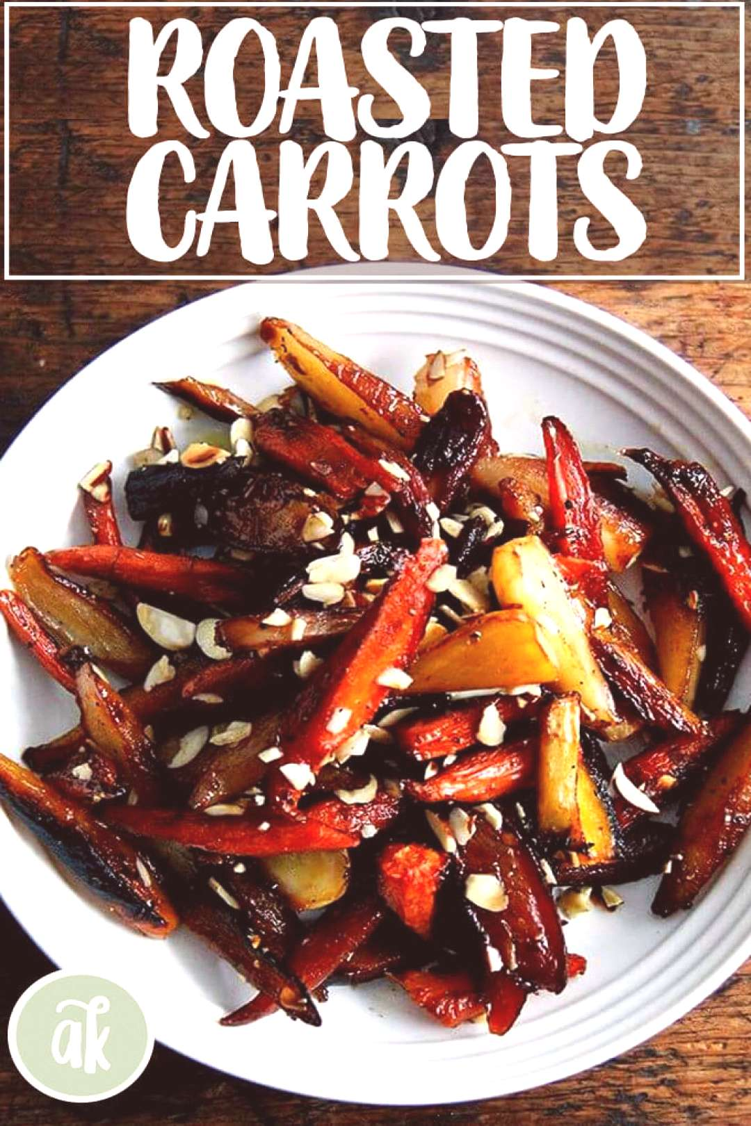 These twice-roasted carrots bathe in vinegar after their first pass in the oven, then get dressed w
