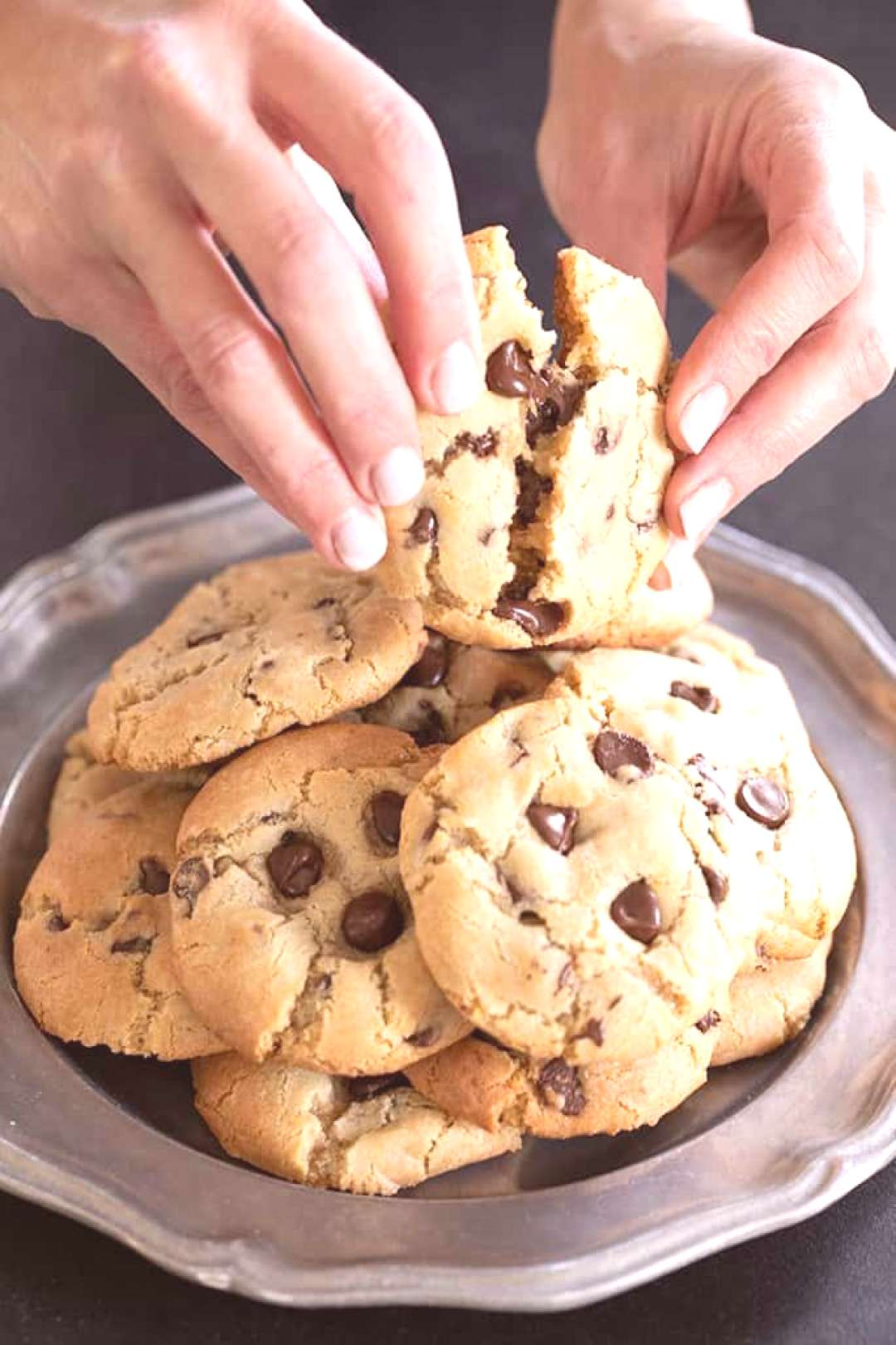 Thick & Chewy Gluten Free Chocolate Chip Cookies -  Thick & Chewy Gluten Free Chocolate Chip Cookie