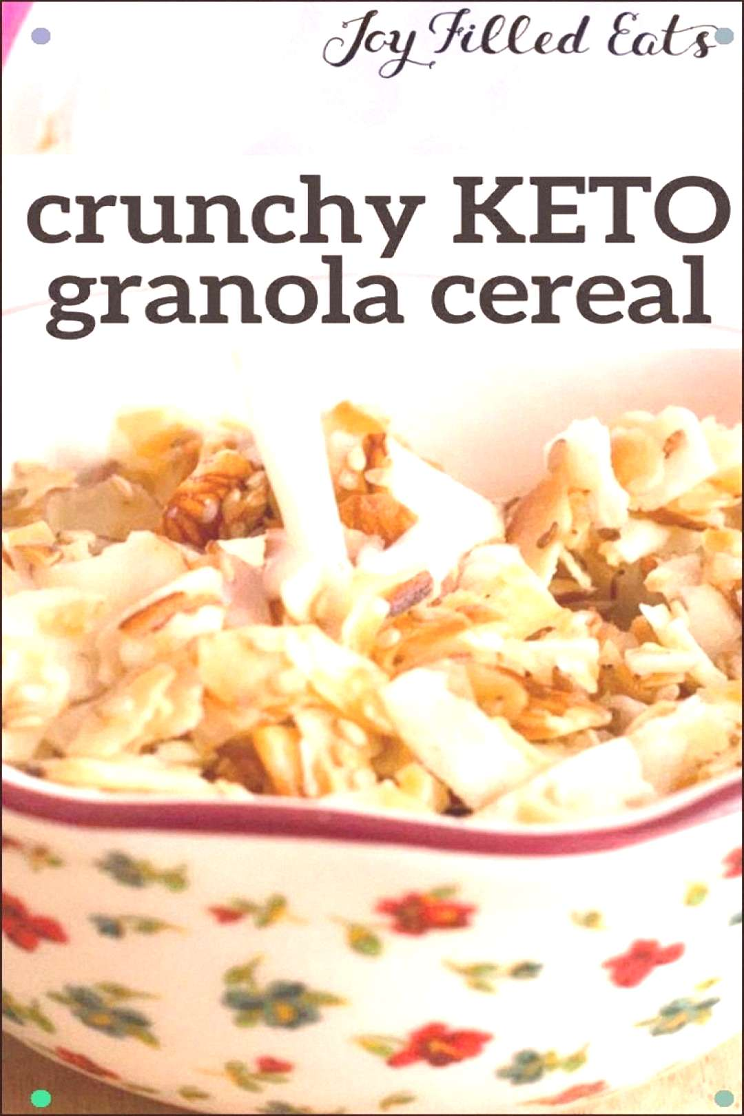 This Easy Keto Granola Recipe Has The Perfect Crunch With Just Enough Sweetness To Sweeten Your Mor