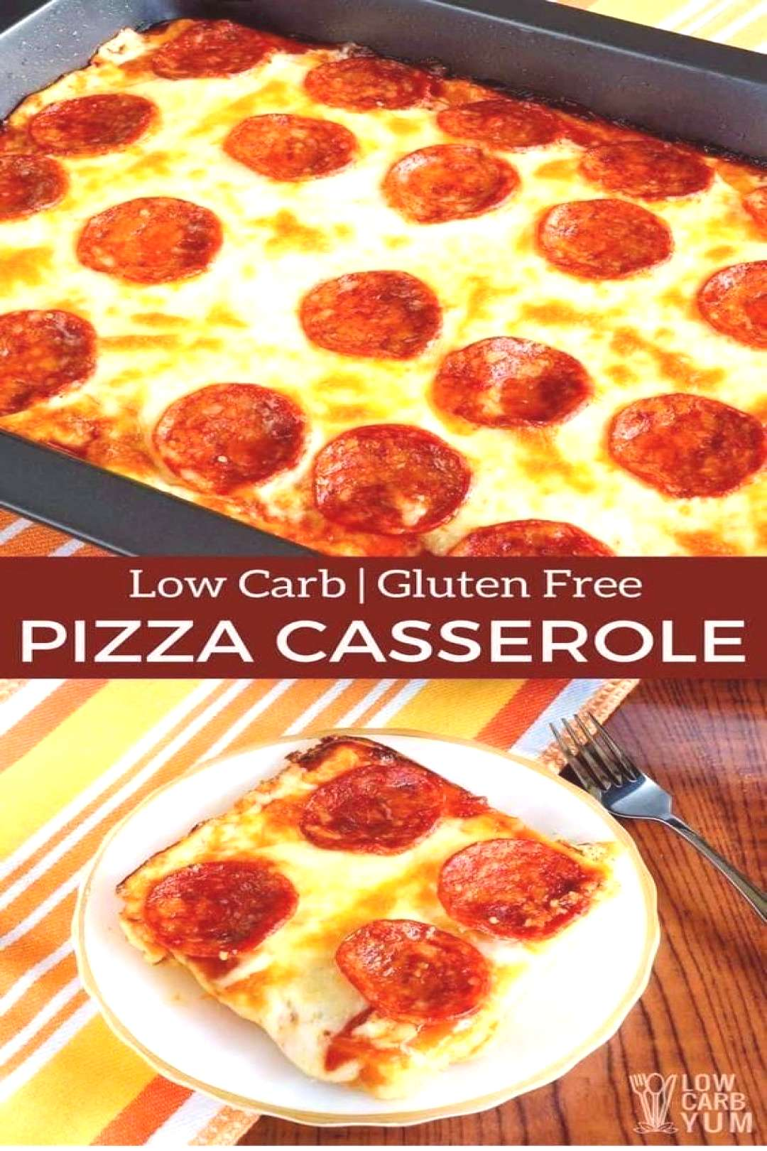 this LOW CARB | LOW CARB PIZZA CASSEROLE RECIPE is so yumm!! You must see the complete recipes.
