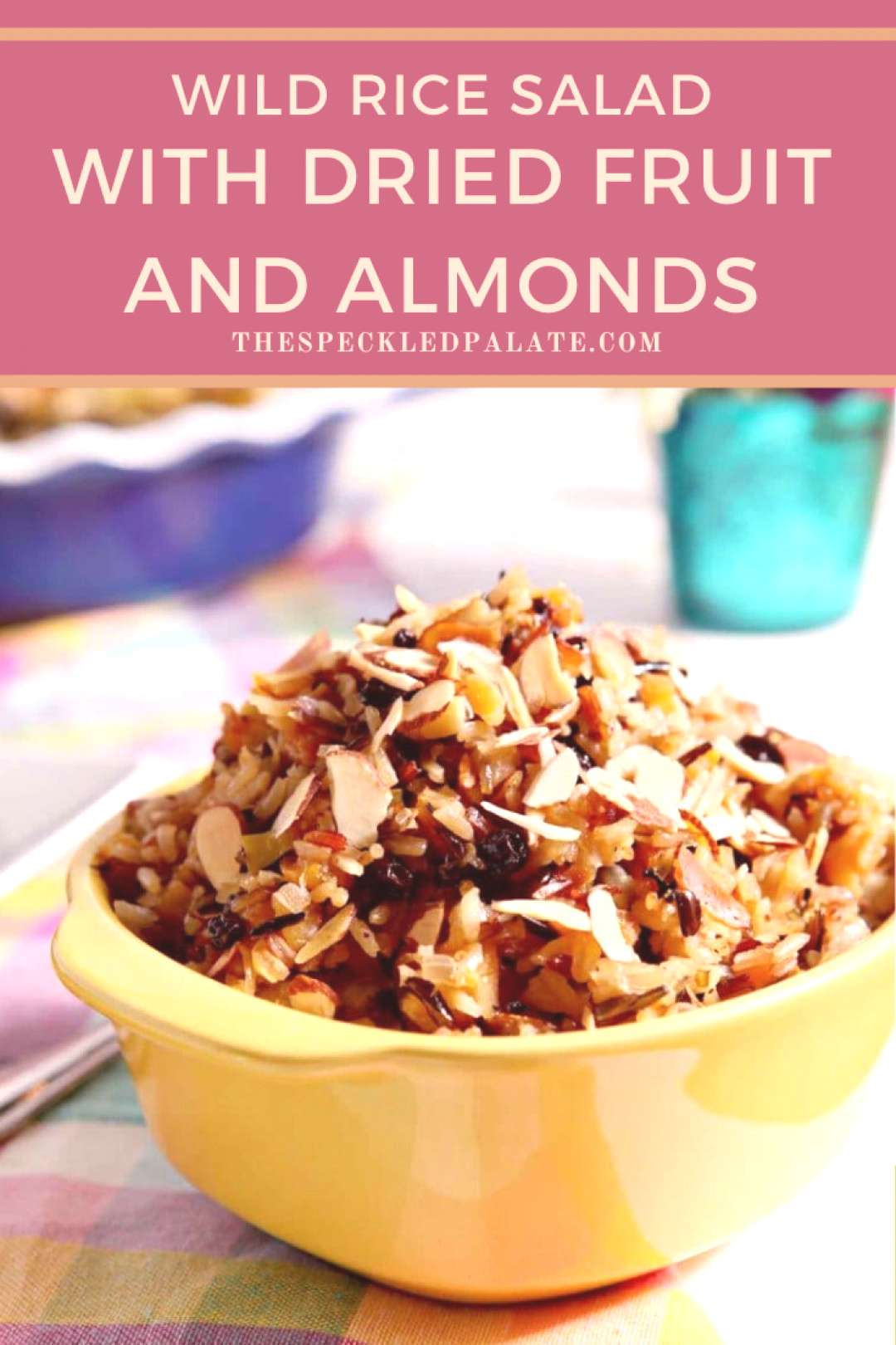 Wild Rice Salad with Dried Fruit and Almonds Wild Rice Salad with Dried Fruit and Almonds,
