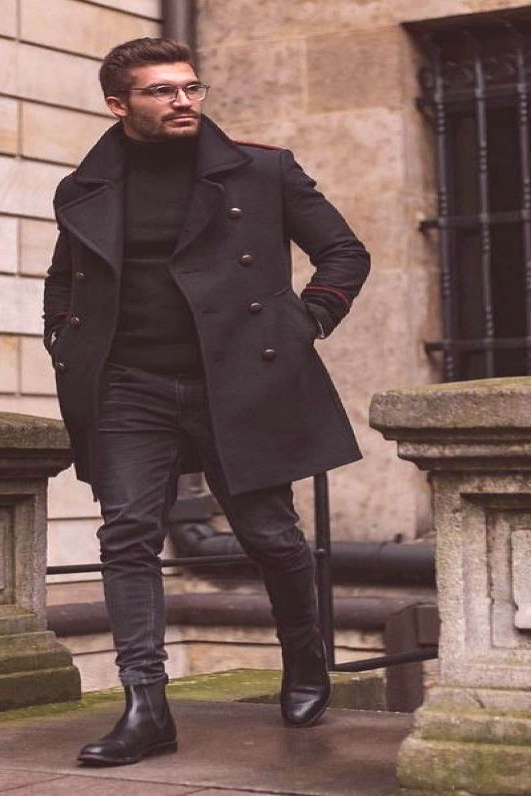 Winter Style - All Black Outfits For Men | Bad Boy Style | All Black Style | Winter Fashion For Men